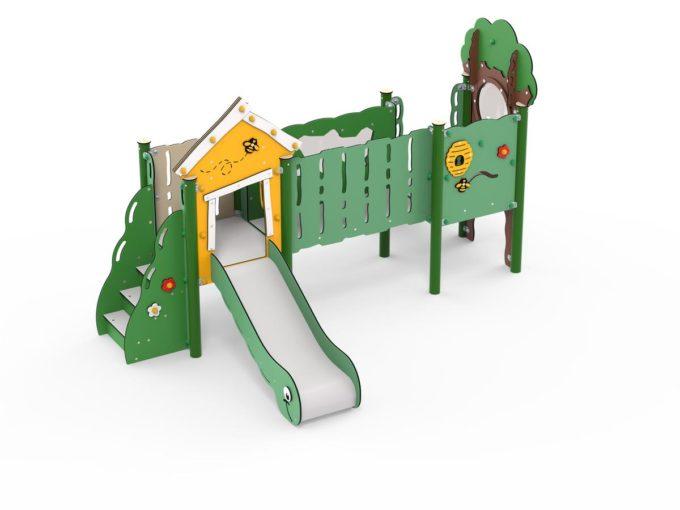 Doppelturm-Spielplatz Jonas - LEDON MiniPlay - MP210 1
