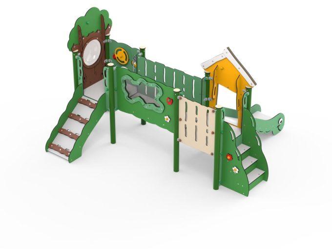 Doppelturm-Spielplatz Jonas - LEDON MiniPlay - MP210 2