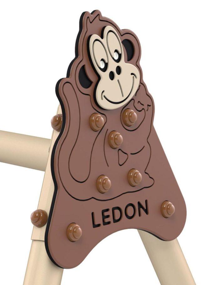 LEDON 2er Reifenschaukel - extra hoch 5