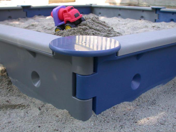 LEDON Sandkasten quadratisch mit 8 Seiten - verschiedene Ausführungen 7