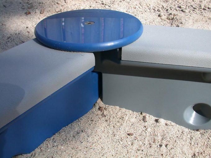 Sandkasten sechseckig mit 6 Seiten - LEDON Originals 9
