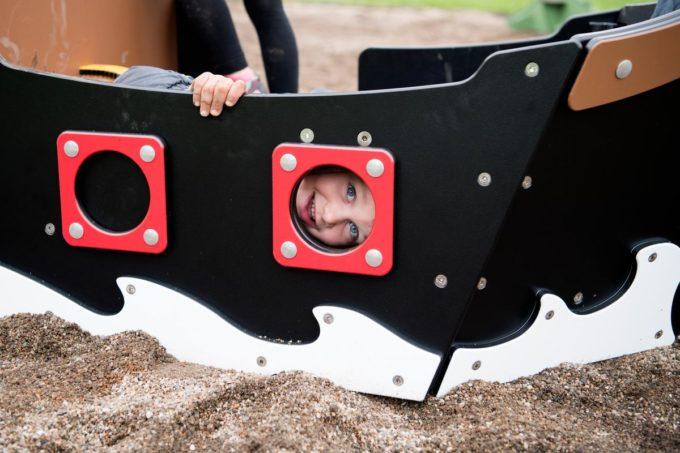 Spielhaus Mini-Piratenschiff Sally - LEDON Pirates 10