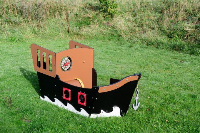 Spielhaus Mini-Piratenschiff Sally - LEDON Pirates 11