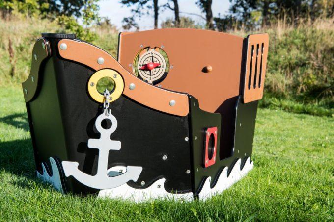 Spielhaus Mini-Piratenschiff Sally - LEDON Pirates 13