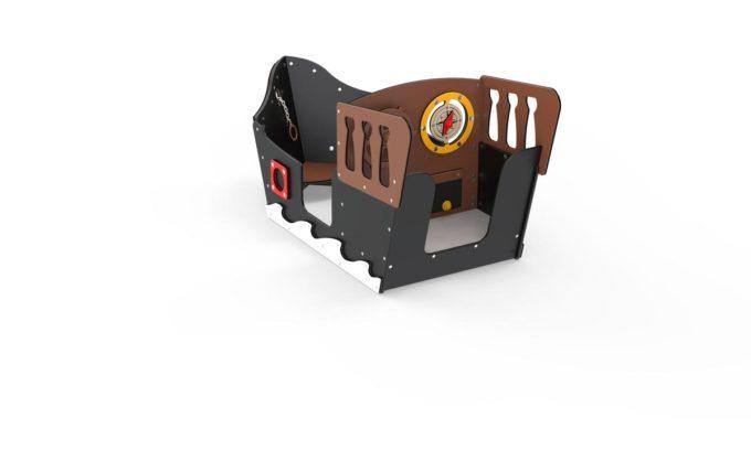 Spielhaus Mini-Piratenschiff Sally - LEDON Pirates 2