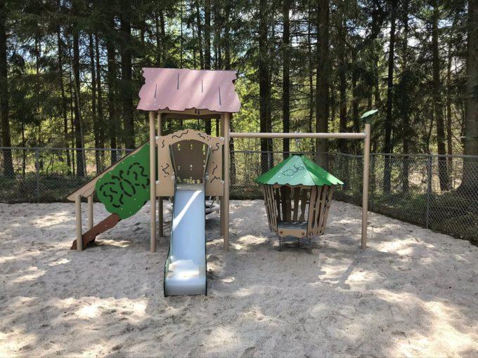 Spielanlage Hanok - inkl. Nestschaukel & schwingender Hütte - LEDON Explore - EX113 3