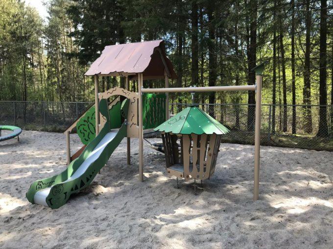 Spielanlage Hanok - inkl. Nestschaukel & schwingender Hütte - LEDON Explore - EX113 7