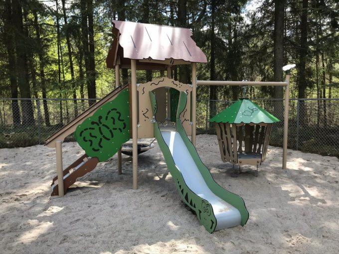 Spielanlage Hanok - inkl. Nestschaukel & schwingender Hütte - LEDON Explore - EX113 6