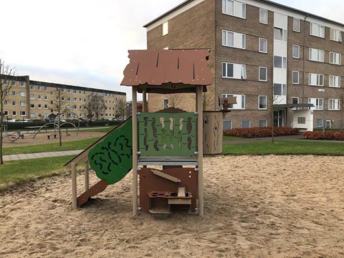 Spielanlage Atox - inkl. Rutsche & Treppe - LEDON Explore - EX111 4