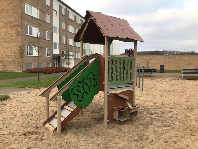 Spielanlage Atox - inkl. Rutsche & Treppe - LEDON Explore - EX111 7
