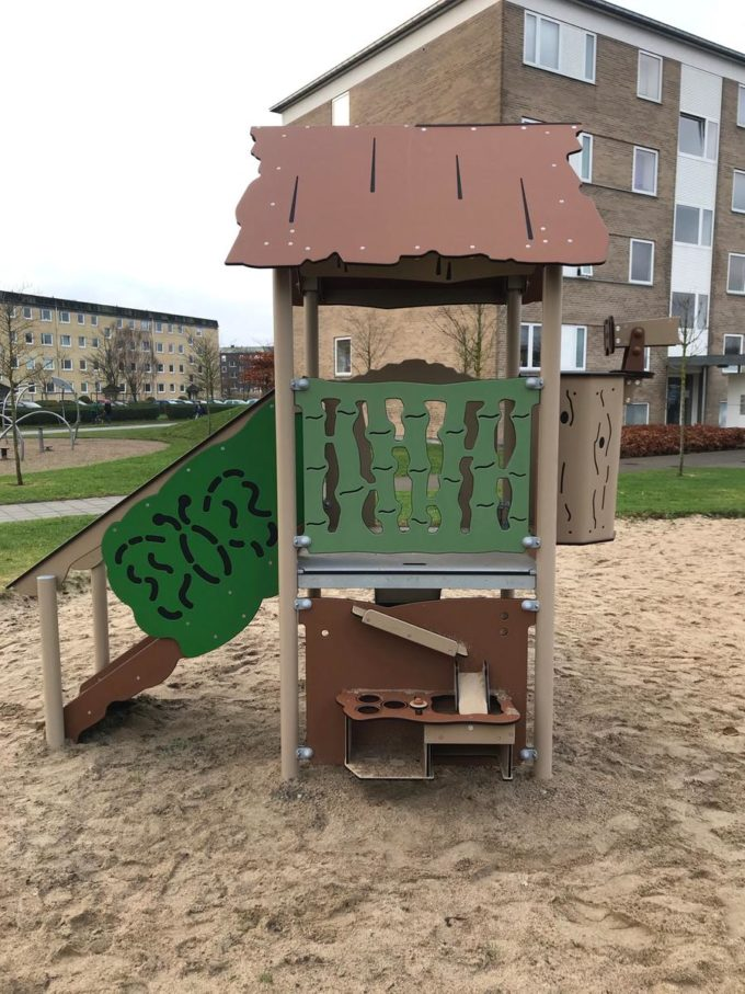 Spielanlage Atox - inkl. Rutsche & Treppe - LEDON Explore - EX111 6