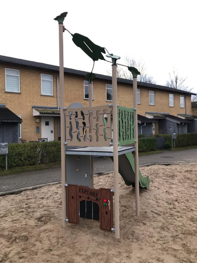 Spielturm Roka - inkl. Rutsche & Kletterwand - LEDON Explore - EX140 6