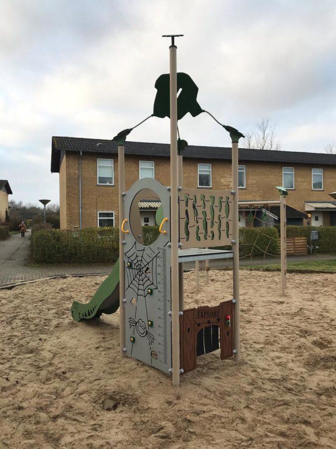 Spielturm Roka - inkl. Rutsche & Kletterwand - LEDON Explore - EX140 5