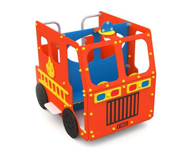 Spielhaus Feuerwehrauto - LEDON Originals - 1700 1