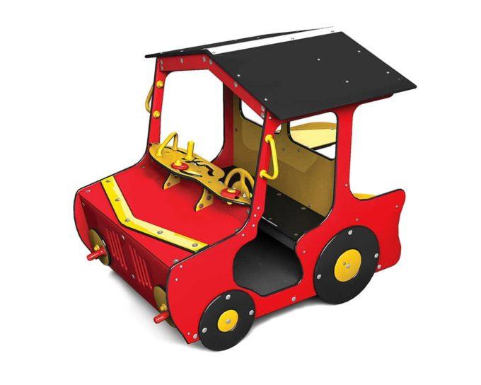 Spielhaus Traktor in Rot - LEDON Originals - 1710-11 1