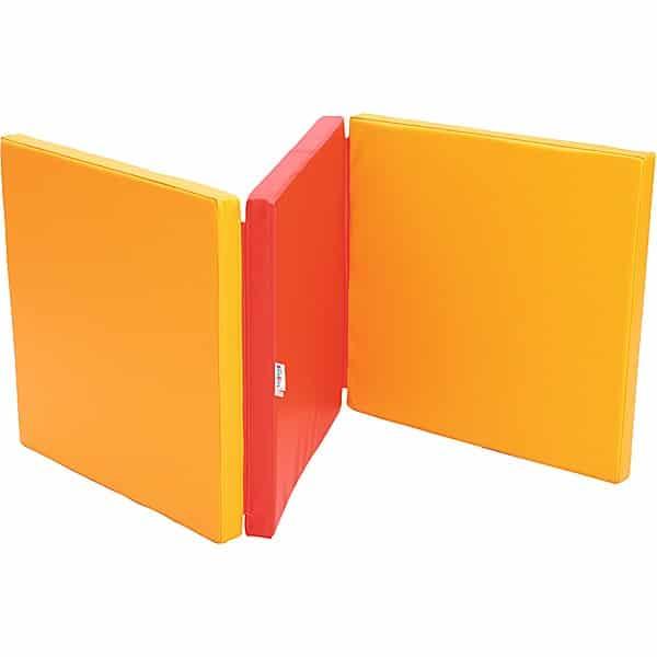 3-teilige Matte - orange/rot 2