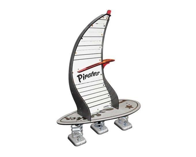 Federwippe Windsurfer Piraten - LEDON Pirates 1