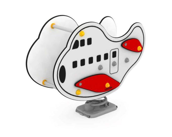 Federwippe Jumbo Flugzeug - LEDON Originals 1