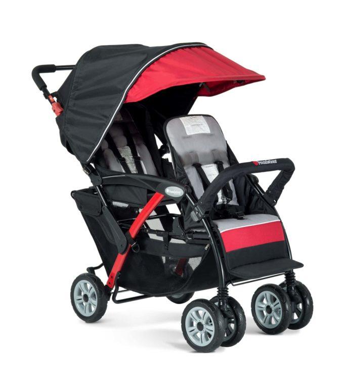 Foundations DUO Sport Kinderwagen 2-Kinder 2