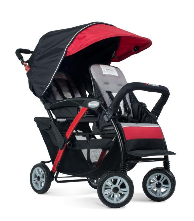 Foundations DUO Sport Kinderwagen 2-Kinder 1