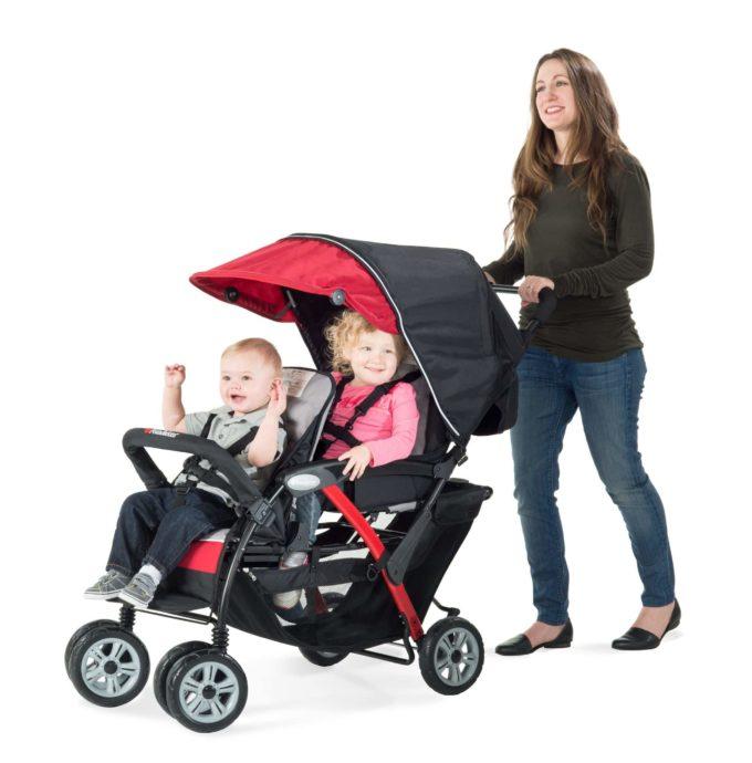 Foundations DUO Sport Kinderwagen 2-Kinder 3