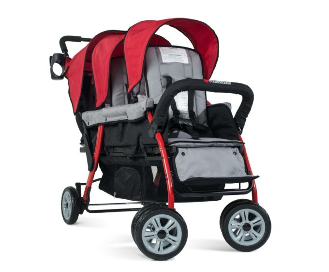 Foundations TRIO Sport Kinderwagen 3-Kinder 3