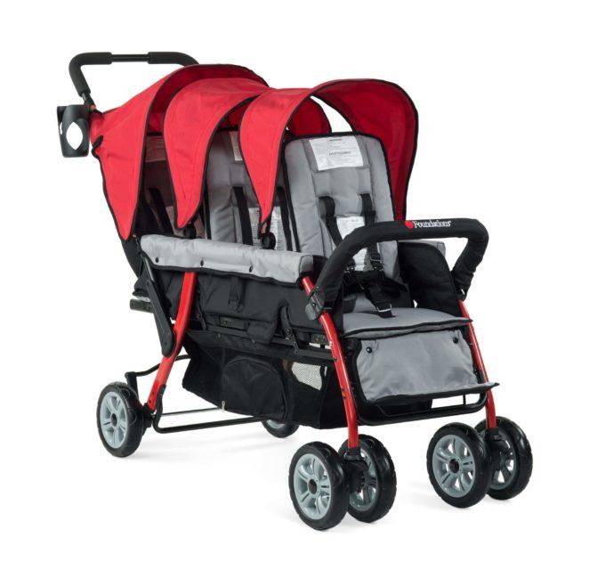 Foundations TRIO Sport Kinderwagen 3-Kinder 5