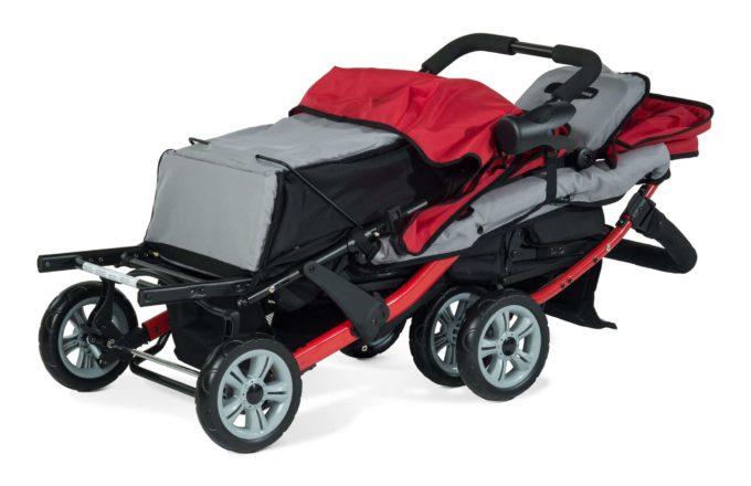 Foundations TRIO Sport Kinderwagen 3-Kinder 9