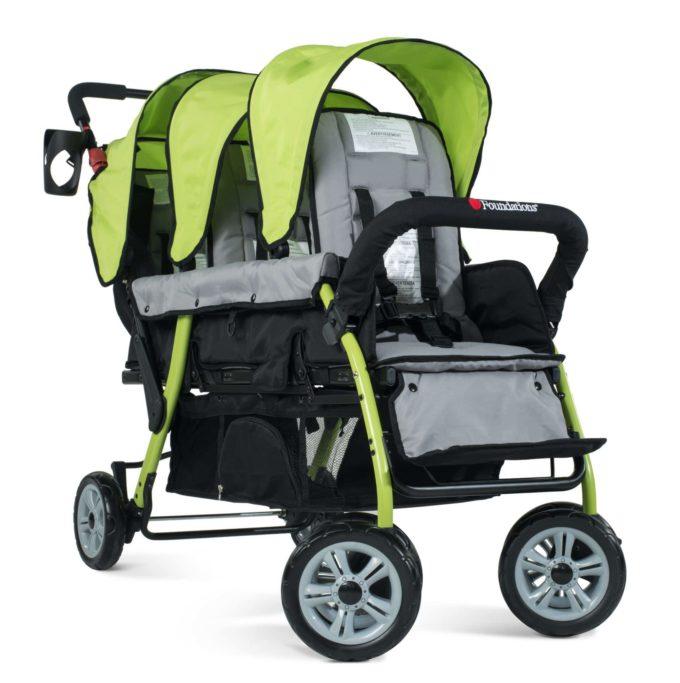 Foundations TRIO Sport Kinderwagen 3-Kinder 1