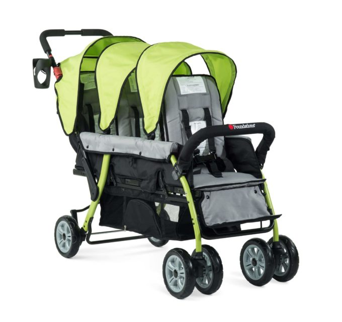 Foundations TRIO Sport Kinderwagen 3-Kinder 6