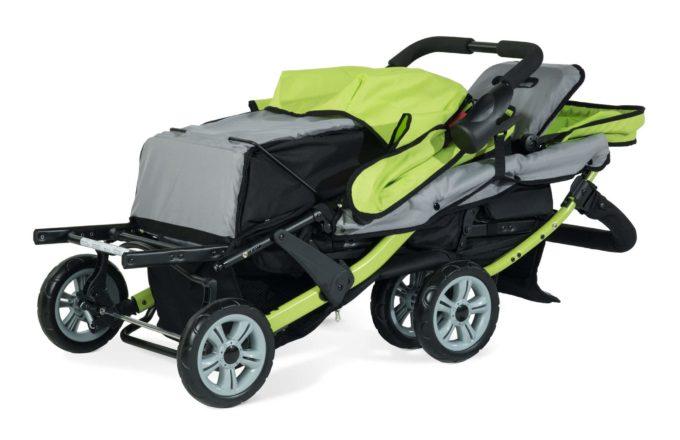 Foundations TRIO Sport Kinderwagen 3-Kinder 8