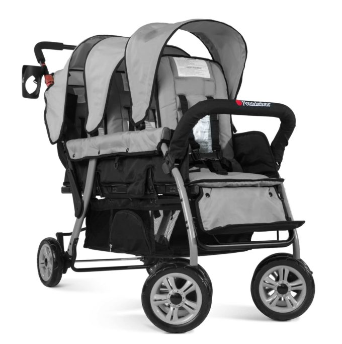 Foundations TRIO Sport Kinderwagen 3-Kinder 2