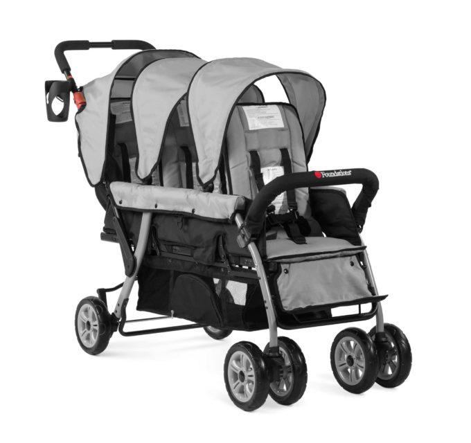 Foundations TRIO Sport Kinderwagen 3-Kinder 4