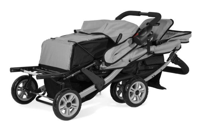 Foundations TRIO Sport Kinderwagen 3-Kinder 7