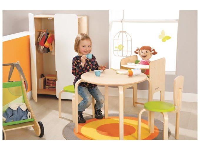 Kindergarten-Stuhl Quad 3