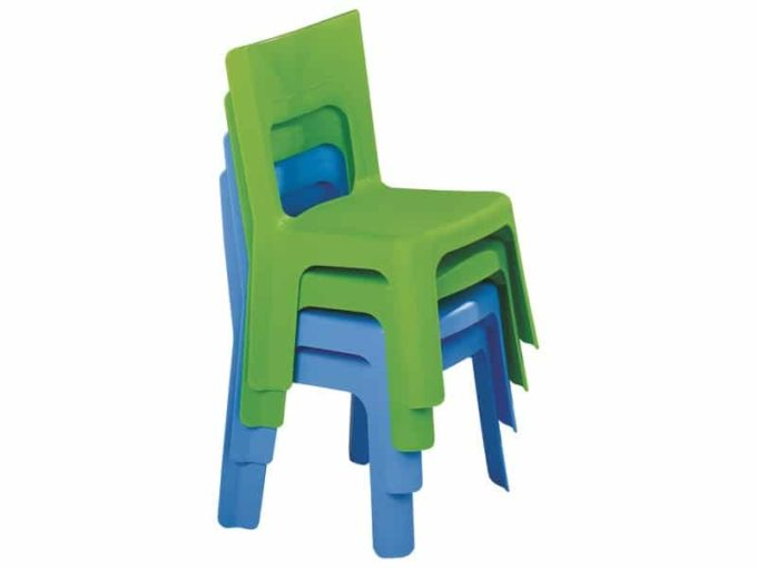 Kindergarten-Stuhl Lou - Stapelbar 4