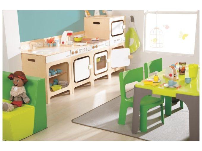 Kindergarten-Stuhl Lou - Stapelbar 8