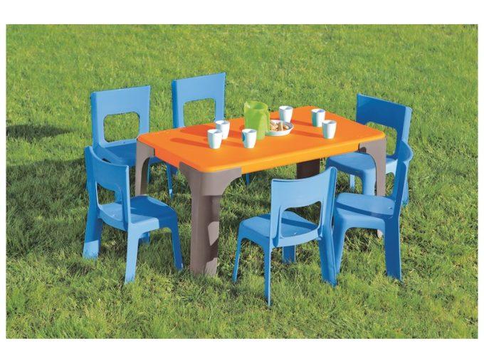 Tisch Lou - Kleiner rechteckiger Tisch 8