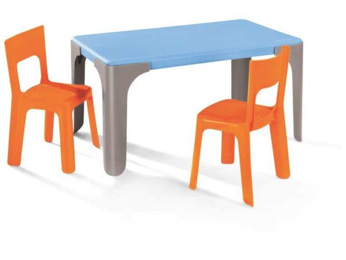 Tisch Lou - Kleiner rechteckiger Tisch 4