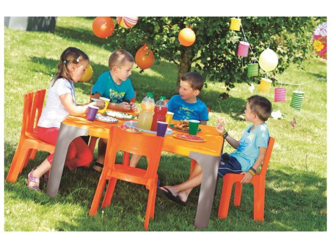 Spieltisch Lou - Großer quadratischer Tisch 4