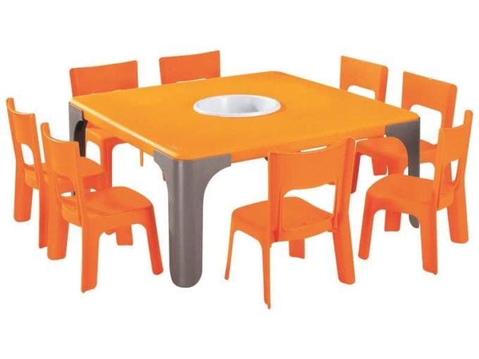Spieltisch Lou - Großer quadratischer Tisch 2