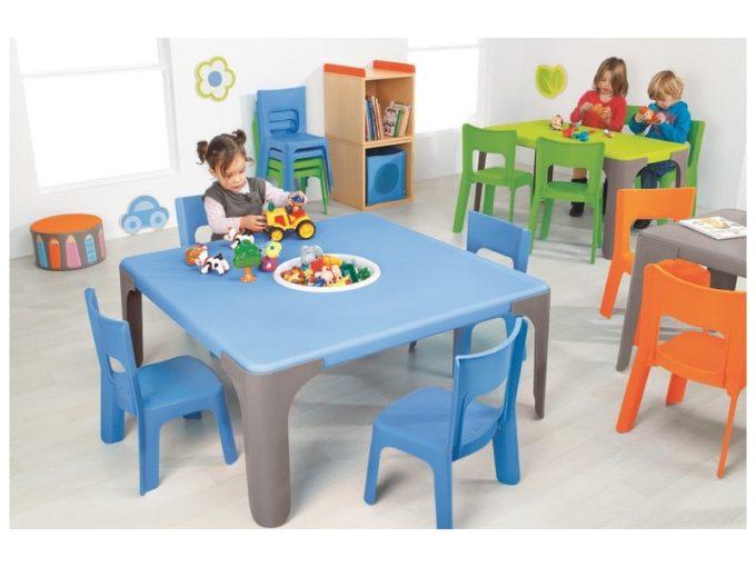 Spieltisch Lou - Großer quadratischer Tisch 3