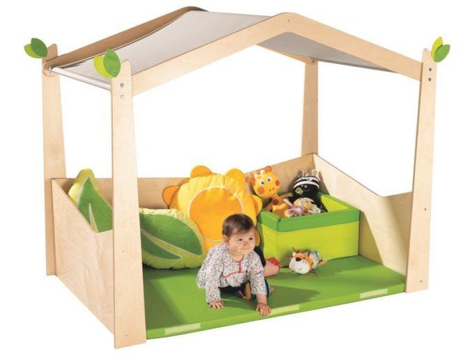 Spielhaus Babi UP Komfort 5
