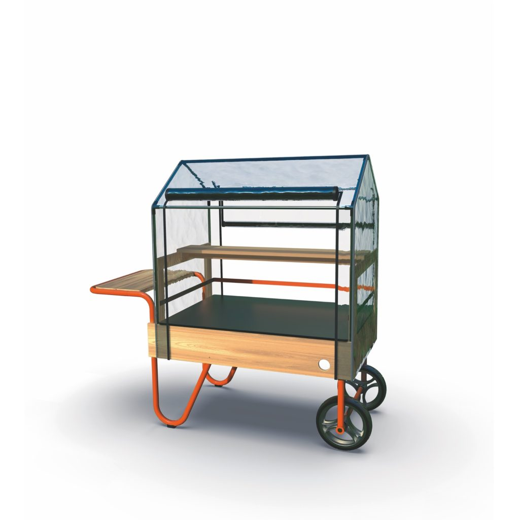 TopTrike Mobiles Gewächshaus - Kleine Gärtner 12