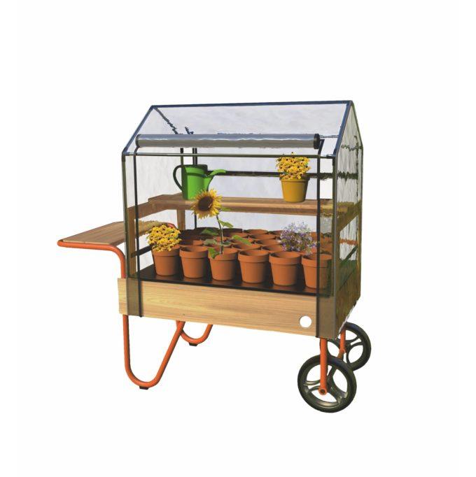 TopTrike Mobiles Gewächshaus - Kleine Gärtner 1