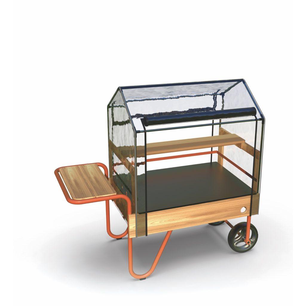 TopTrike Mobiles Gewächshaus - Kleine Gärtner 10