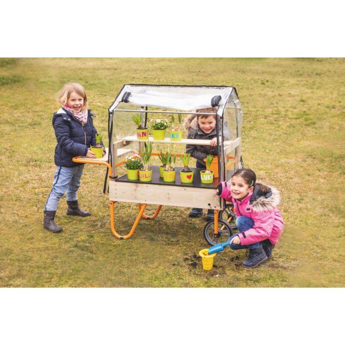 TopTrike Mobiles Gewächshaus - Kleine Gärtner 5