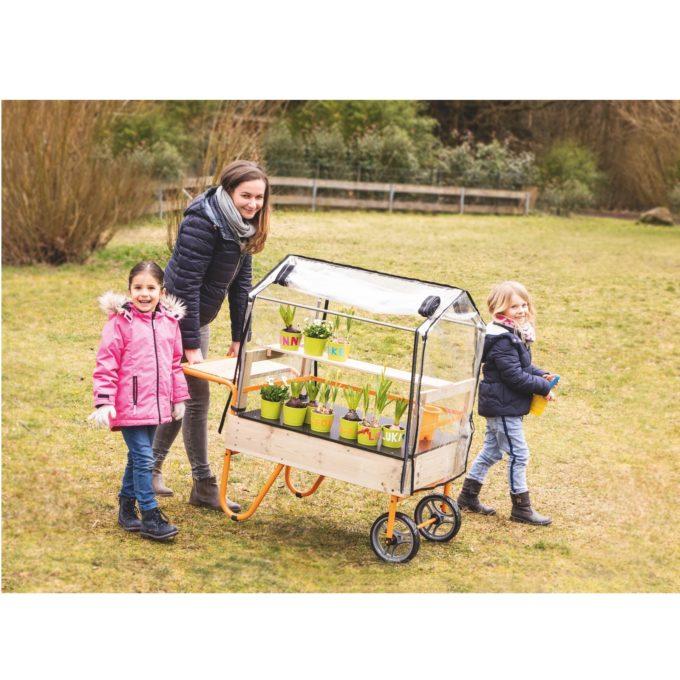 TopTrike Mobiles Gewächshaus - Kleine Gärtner 2
