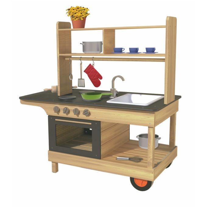 TopTrike Mobile Küche - Großer Chefkoch 1