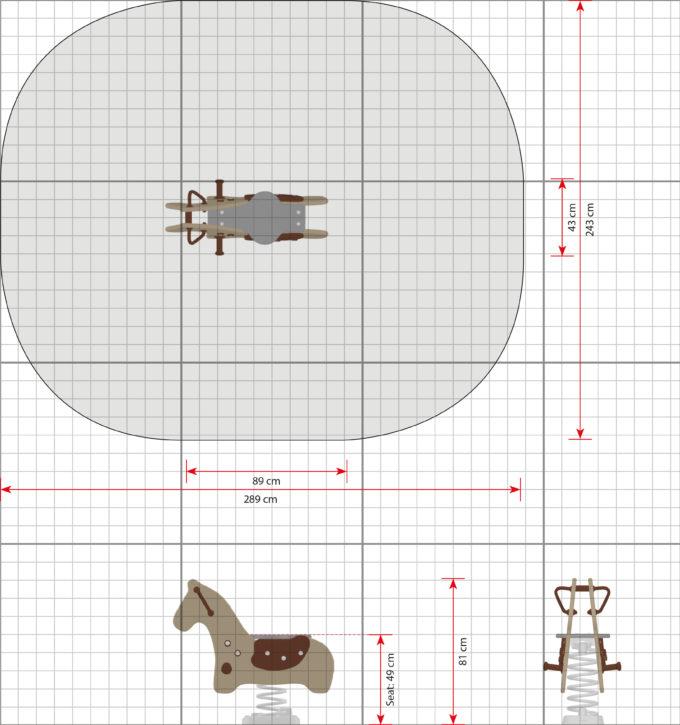 Federwippe Pony - LEDON Explore - 642020 2